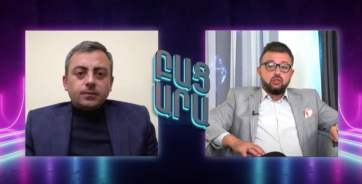 Ara Kazaryan Interview with Ishkhan Saghatelyan – Արա Ղազարեանի Հարցազրոյց Իշխան Սաղաթելեանի Հետ