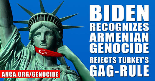 ARF Western US Central Committee Statement on Genocide Recognition by President Biden