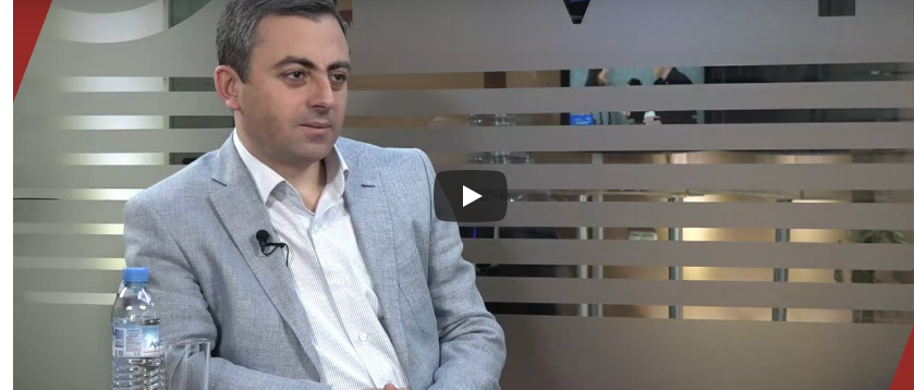 Ishkhan Saghatelyan Interview with Civilnet